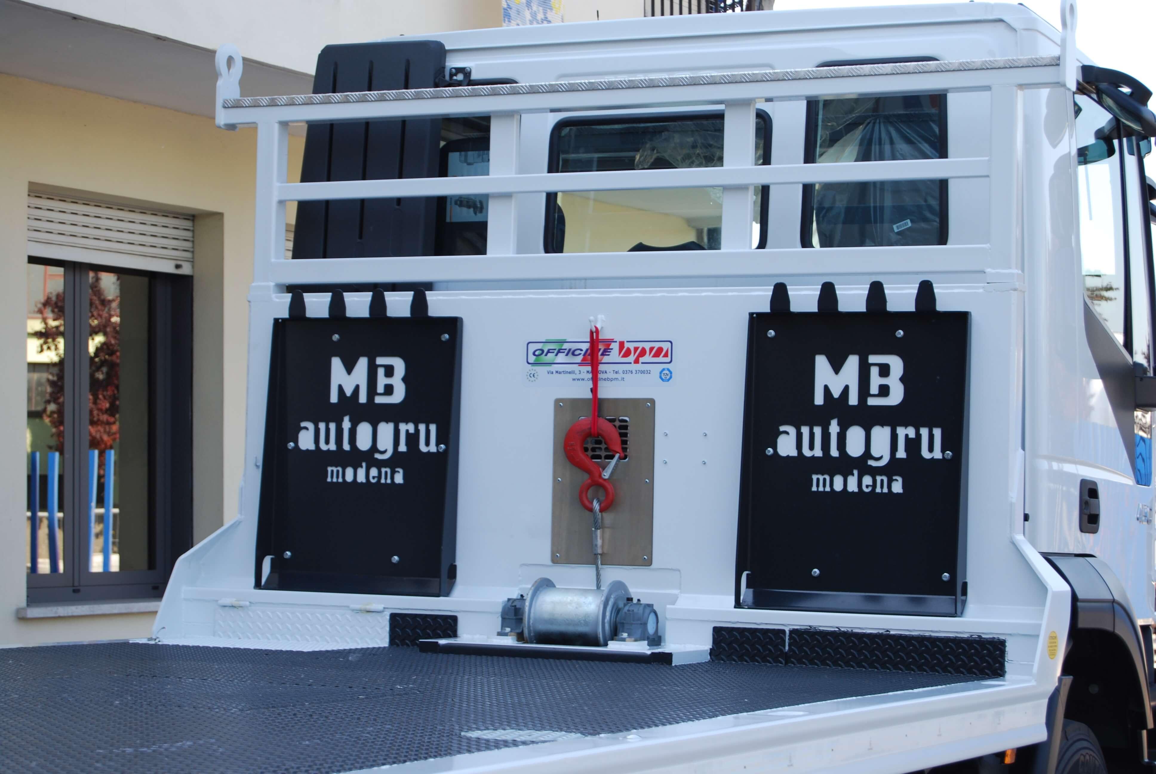 carrellone paracabina personalizzato