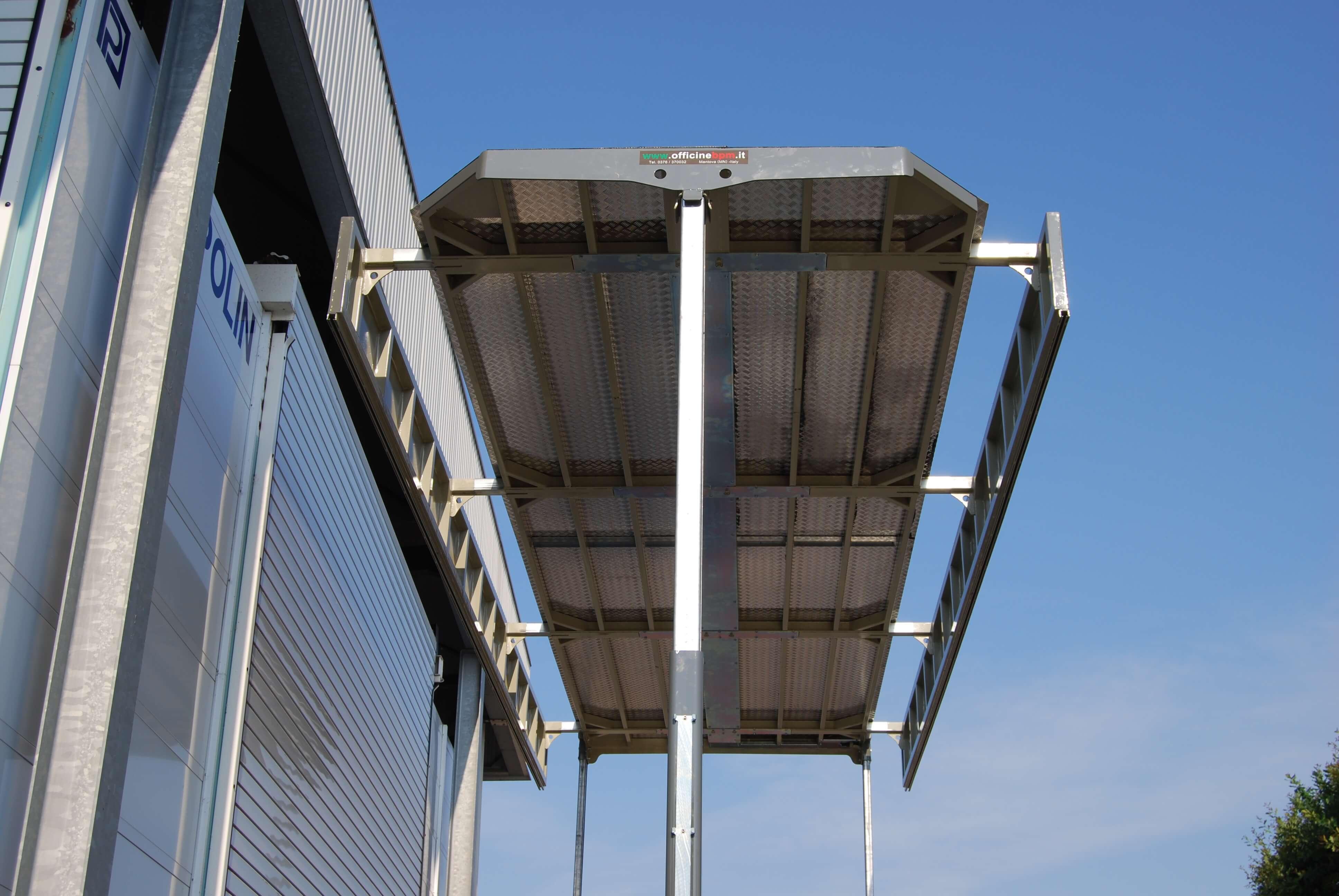 centina personalizzata tetto idraulico